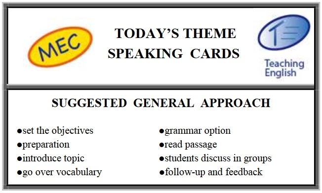 MEC Articles 4 Enhance Speaking In Class: Today's Theme